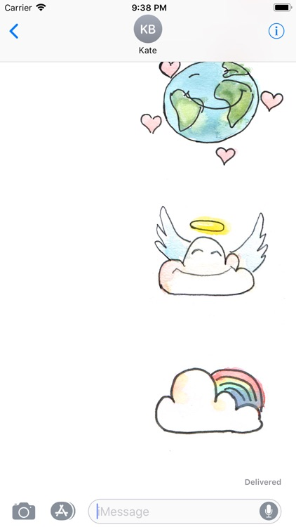 Dream Stickers - Happy Cloud screenshot-3