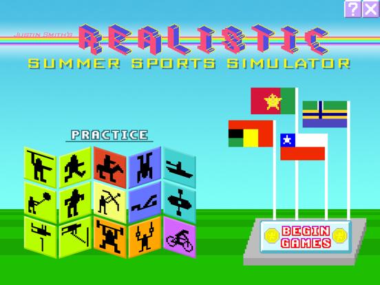 Realistic Summer Sportsのおすすめ画像1