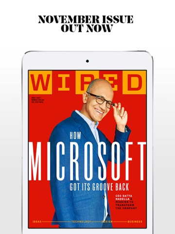 Screenshot of WIRED Magazine (UK)