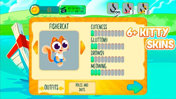 Kitty Paradise - Cat Fishing screenshot-3