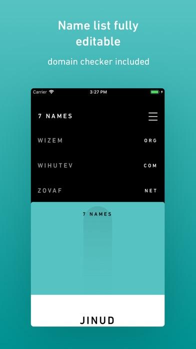 Nominazer Screenshots