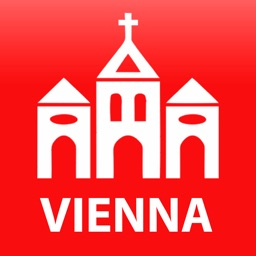 Vienna travel map guide 2018
