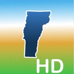 Aqua Map Vermont Lakes GPS HD