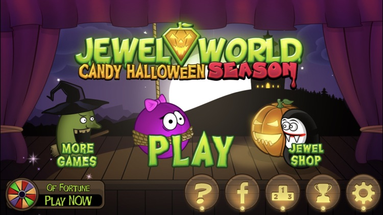 Jewel World Candy Halloween