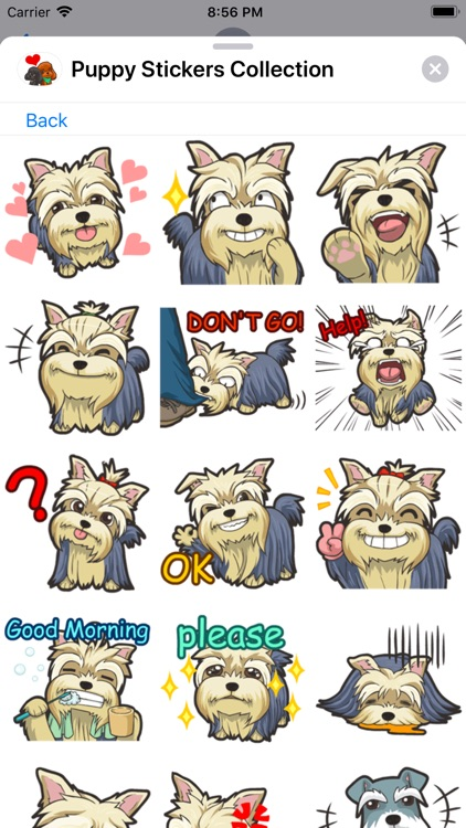 Puppy Stickers Collection screenshot-4