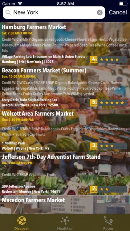 DataX Farmers Markets