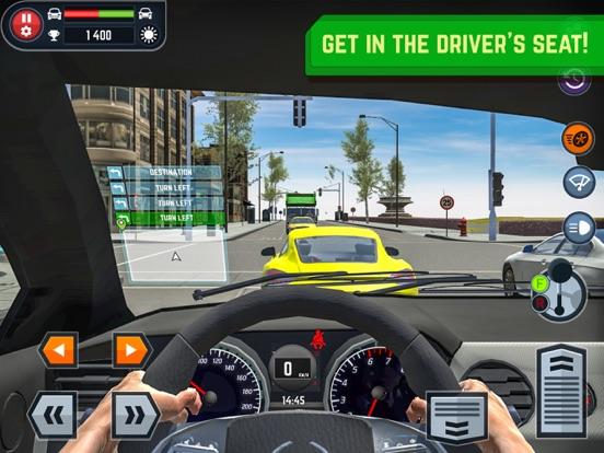 car driving school simulator app voor iphone ipad en. Black Bedroom Furniture Sets. Home Design Ideas