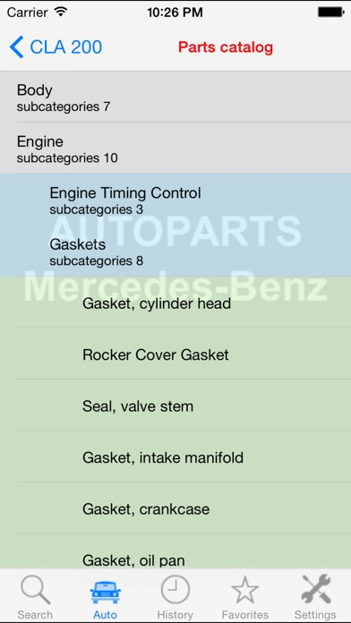 Screenshot for Autoparts for Mercedes-Benz in Poland App Store
