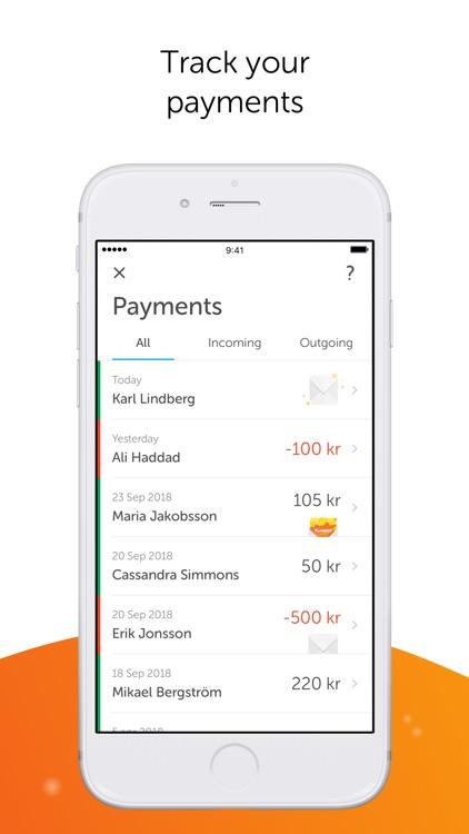 Swish payments
