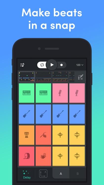 Beat Snap - Music & Beat Maker screenshot-0