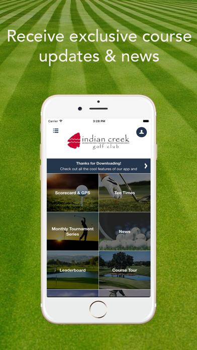 Indian Creek Golf Club screenshot 2