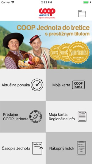 Coop Jednota On The App Store
