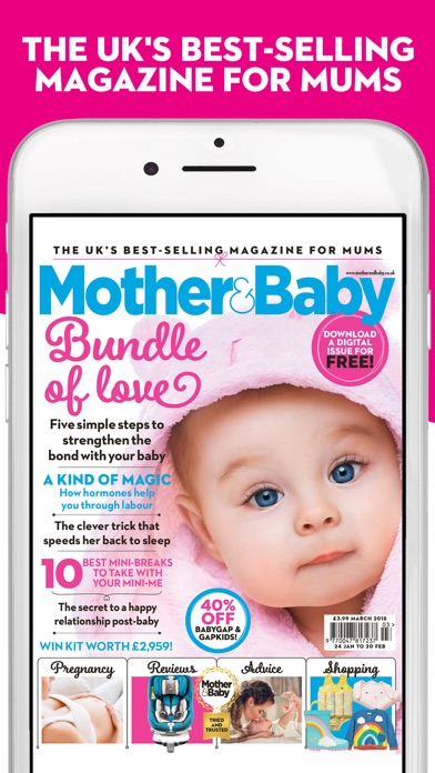Mother And Baby Magazine review screenshots