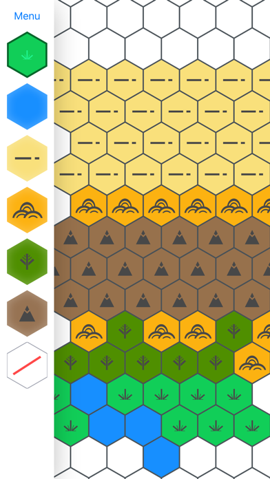 Hex Map Maker by Michael Friedman (iOS, United States) - SearchMan ...