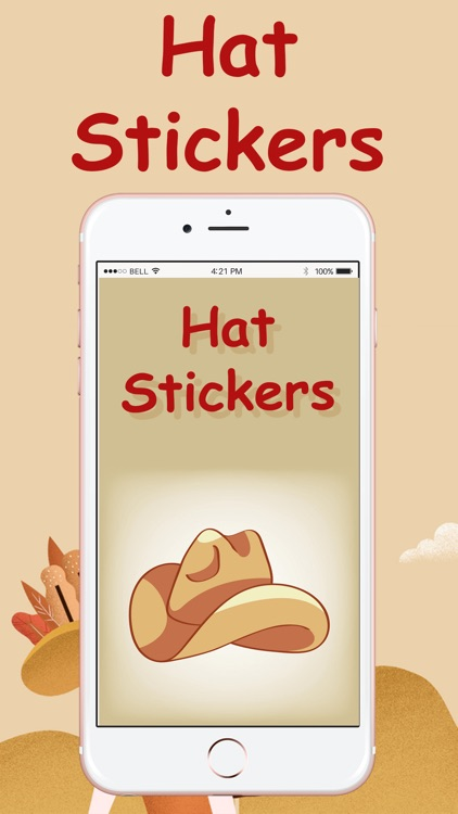 Hat Stickers Pack!