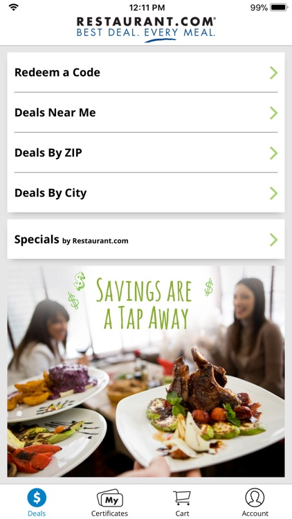 Restaurant.com screenshot-0