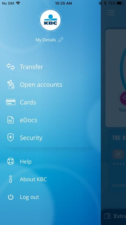KBC Ireland Mobile Banking screenshot-7