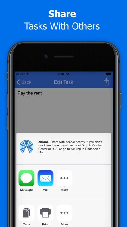 Things To Do - Tasks List