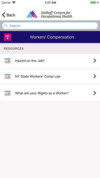 Selikoff Occupational Safety screenshot-5