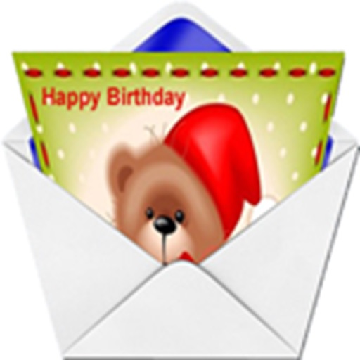 Happy Birthday Card Maker App icon