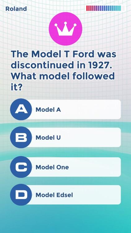 Trivia: Knowledge Trainer