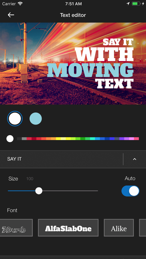 WeVideo Movie & Video Editor App 截图
