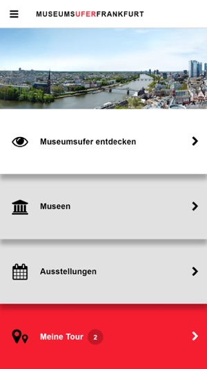MuseumsuferApp Screenshot