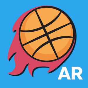 AR Basketball app