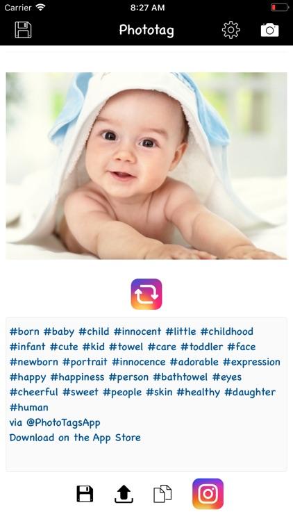Phototag hashtag generator PRO