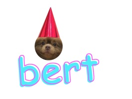 bert the pom stickers