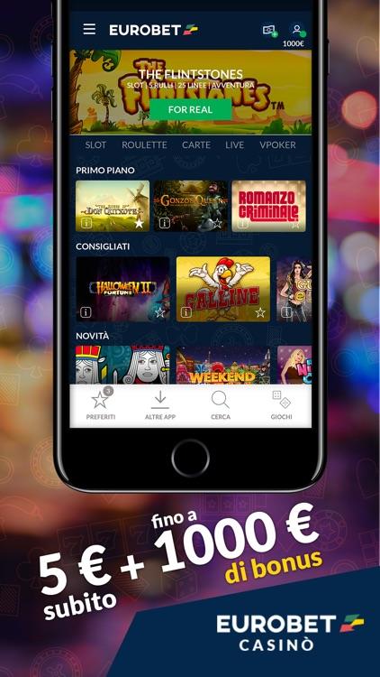 Eurobet casin slot roulette by eurobet italia srl for Bb italia srl