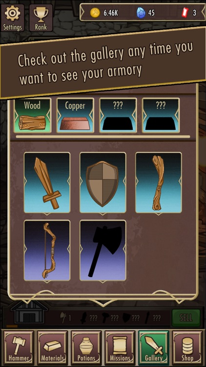 Medieval Clicker Blacksmith screenshot-3