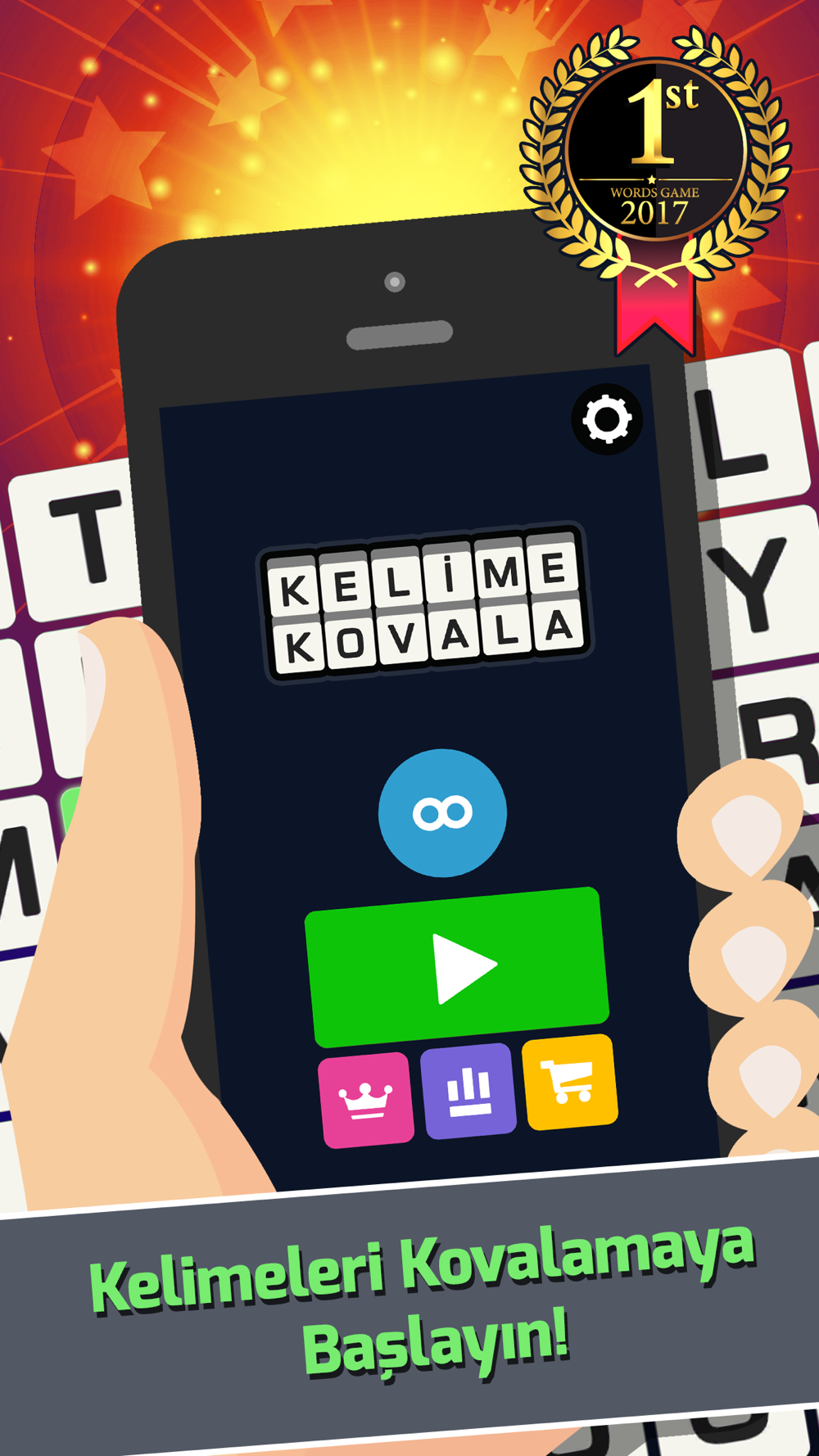 Kelime KovalaTürkçe Kelime Free Download App for iPhone - STEPrimo.com