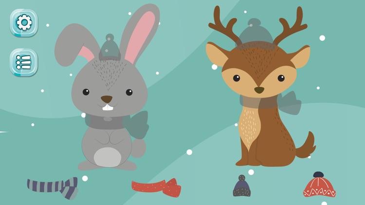 Santa Puzzle Game for Kids screenshot-4