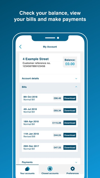 Yorkshire Water Mobile screenshot two