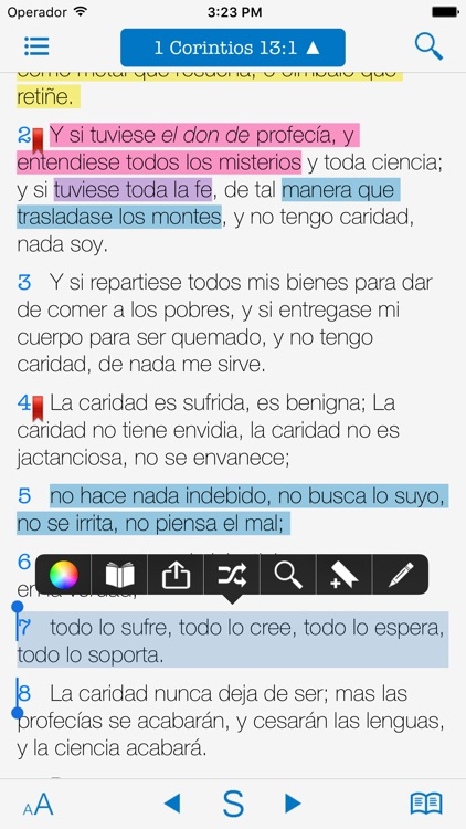 Bible and Spanish Commentary