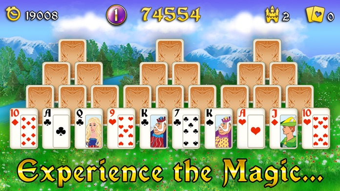 Magic Towers Solitaire Screenshot