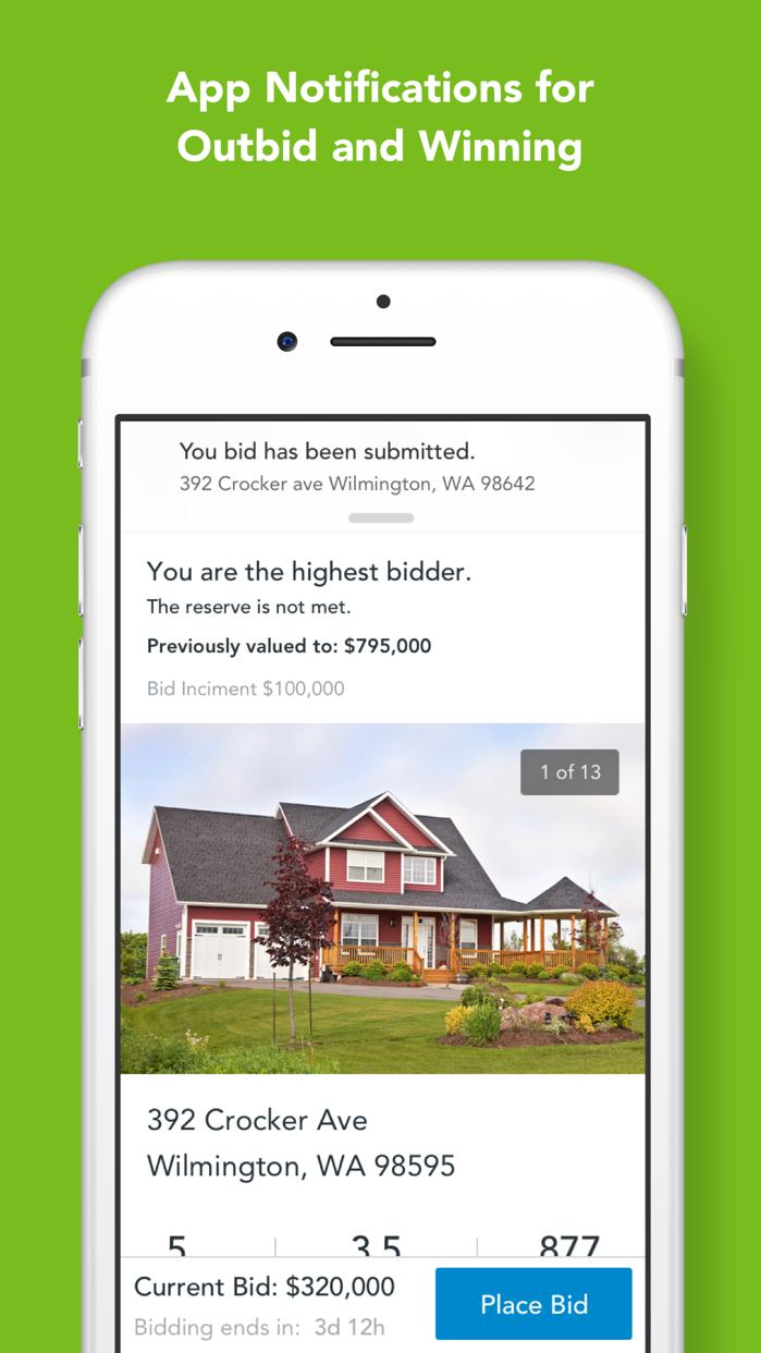 Auction.com - Homes for Sale Screenshot