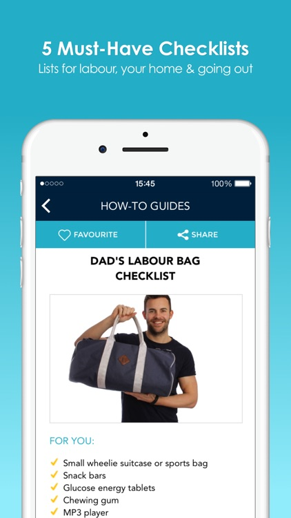 Quick Tips For New Dads screenshot-3