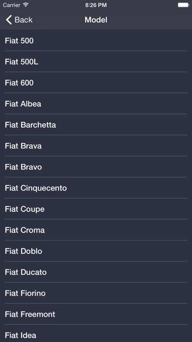 TechApp for Fiat Screenshot