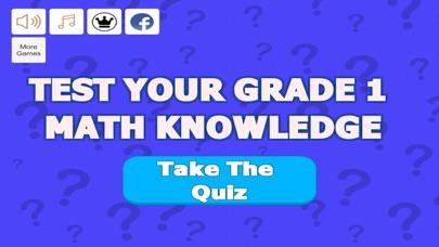 Grade 1 Math Trivia screenshot 1