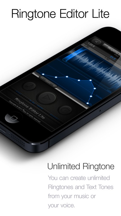Screenshot #1 for Ringtone Editor Lite