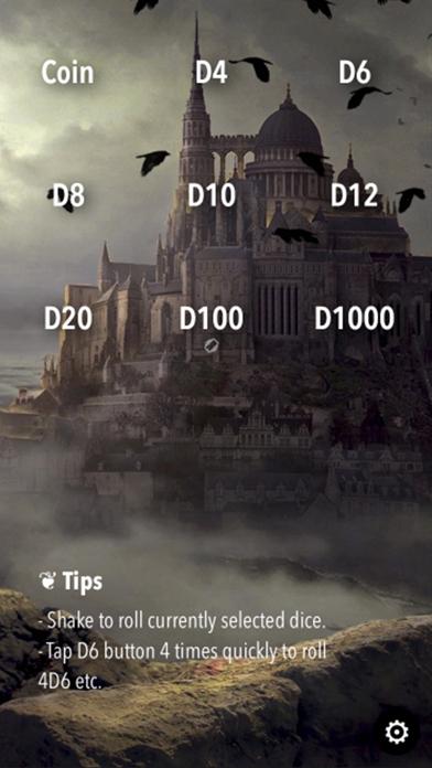 RPG Dice Roller Lite screenshot three