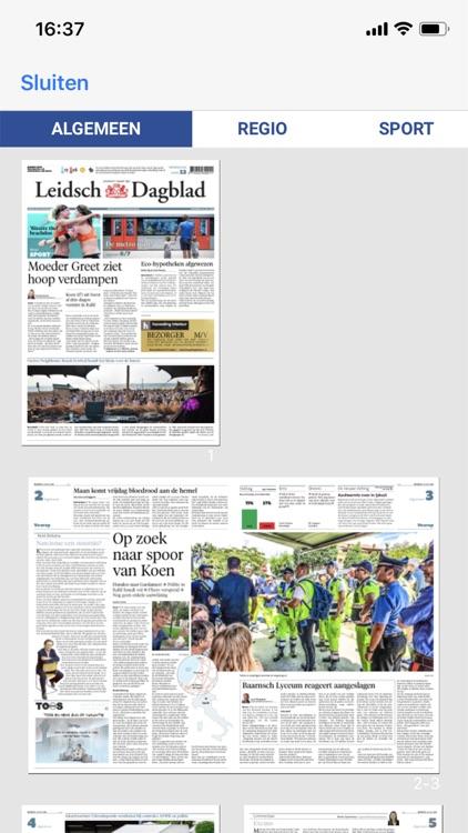 Leidsch Dagblad - krant screenshot-3