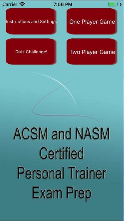 ACSM & NASM CPT Exam Prep