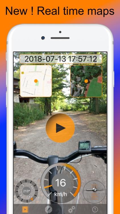 Action Cam Pro: Maps,speed,GPS screenshot-0