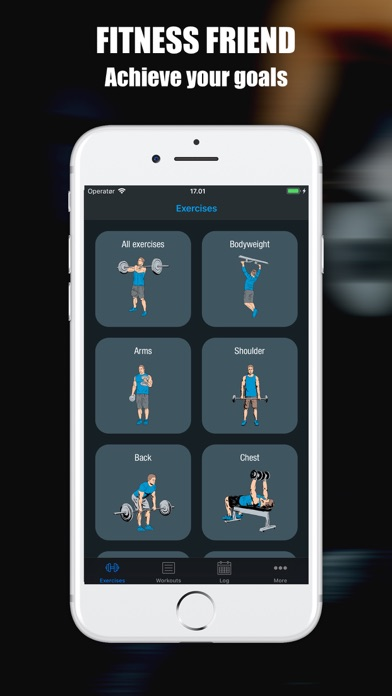 iPad Image of Fitness Friends