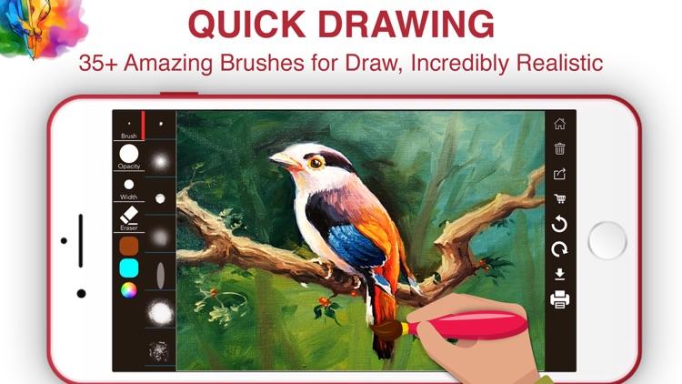 Draw ing Pad - Draw SketchBook by Kajol Markana