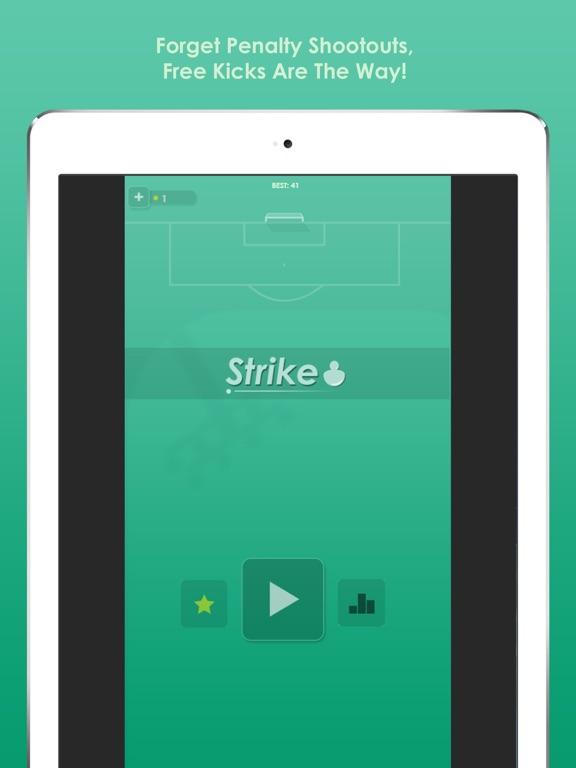 Screenshot 4 Strike: Freistoß Fußball