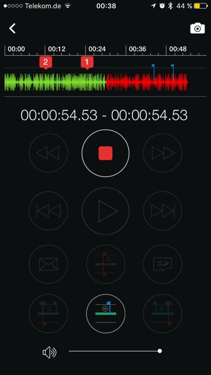 ProDictate Mobile BlackBerry screenshot-4